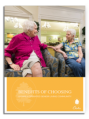 Family-Operated Senior Living Community eBook_Oaks Senior Living