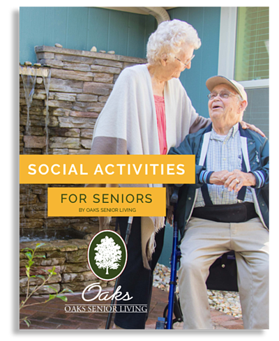 Social Activities for Seniors_Oaks Senior Living